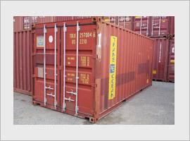 Gebruikte zeecontainer 20 ft A keus