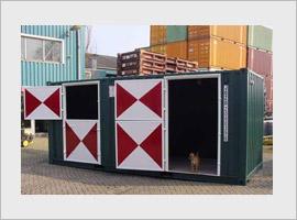 Paardenbox, 20 ft