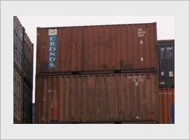 Gebruikte zeecontainer, 20 ft, B keus