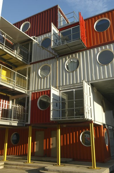 Wonen in Zeecontainers